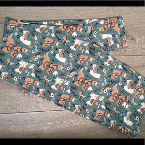 Lularoe TC2 leggings Llamas Brand New